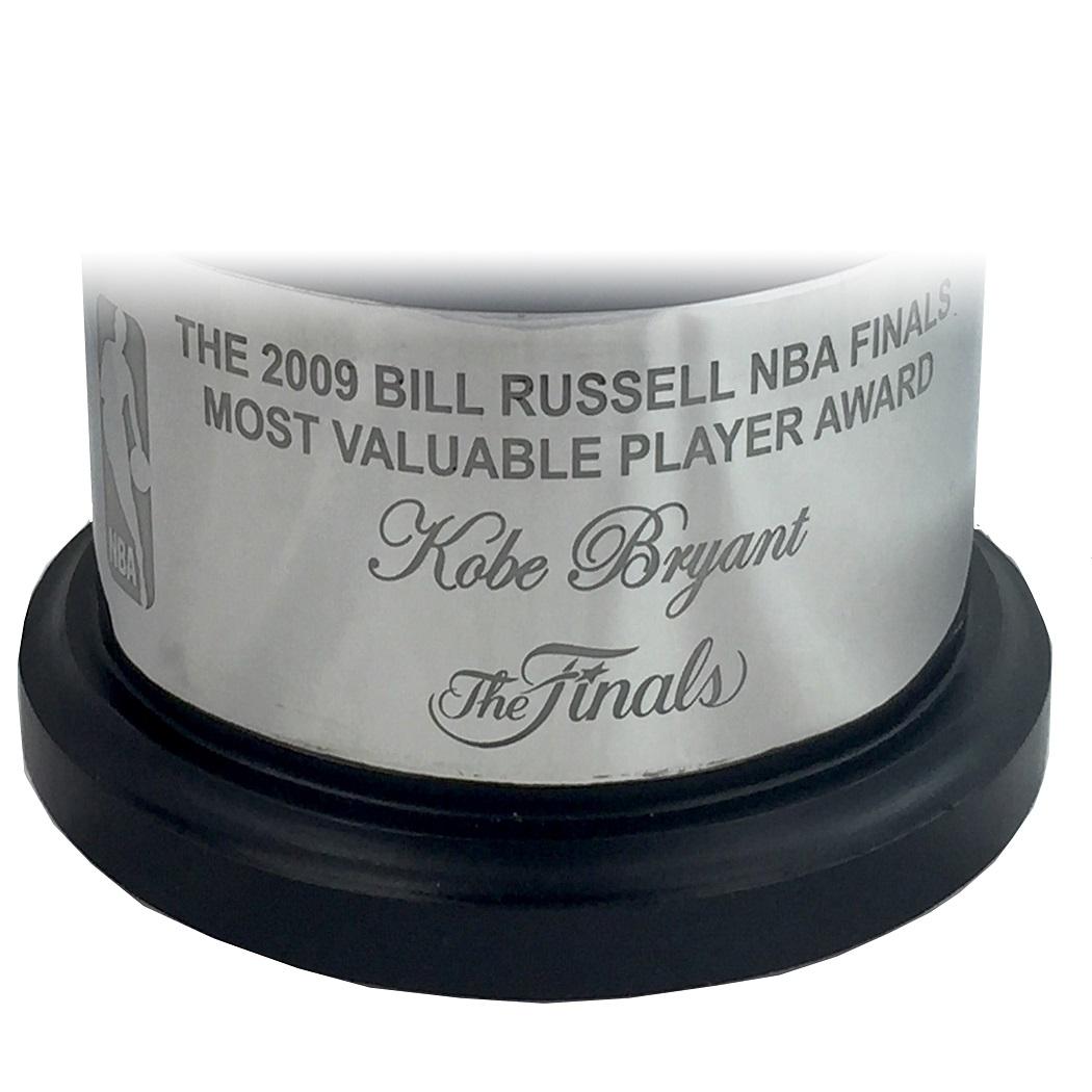 Lot Detail - Kobe Bryant 2009 Bill Russell NBA Finals MVP ...