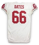 Bart Oates 1995 San Francicso 49ers Game Worn Road Jersey - Excellent Wear (49ers LOA)