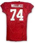 Steve Wallace 1995 San Francisco 49ers Game Worn Home Jersey (49ers LOA)