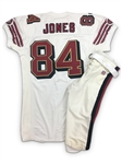 Brent Jones 1997 San Francisco 49ers Game Worn Road Jersey & Home Pants Set