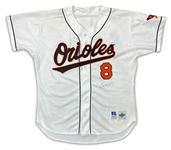 Cal Ripken Jr. 1995 Baltimore Orioles Game Used & Autographed Home Jersey (Miedema LOA)