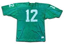 Joe Namath 1970s New York Jets Practice Worn Jersey - Style Also Worn During Pre-Season (MEARS)