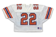 Emmitt Smith 1989 Florida Gators Game Used Jersey - PHOTO MATCHED! Heavy Repairs! 1 of 2 Known (RGU Photo Match LOA)