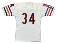 Walter Payton 1984-87 Chicago Bears Game Used Road Jersey - Beautifully Even Extensive Wear, Outstanding Example