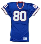 James Lofton 1991 Buffalo Bills Game Used Home Jersey (MEARS A10)