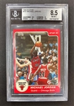 Michael Jordan 1984-85 Star #101 Rookie Card - Graded BGS 8.5 #0007939781