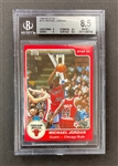 Michael Jordan 1984-85 Star #101 Rookie Card - Graded BGS 8.5 #0011288750