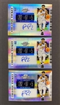 (3) RJ Barrett 2019-20 Contenders Hyper Optic College Ticket Rookie Auto Cards #d to 10 - #2 Draft Pick! New York Knicks!