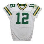 Aaron Rodgers 2016 Green Bay Packers Game Used Jersey - 313 yards, 2 TDs! PHOTO MATCHED! (Fanatics/Meigray)