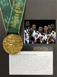 "1996 Atlanta XXVI Summer Olympic Games ""Dream Team II"" Basketball Gold Medal - w/Original Presentation Box"
