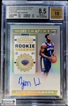 Zion Williamson 2019-20 Contenders Premium Optic Variation Rookie Ticket Auto - BGS 8.5 - Short Printed /20? Only 6 Cards Graded by BGS
