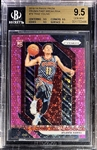 Trae Young 2018-19 Panini Prizm Fast Break Pink Rookie 26/50 - BGS 9.5 (Population 6!)