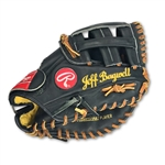 Jeff Bagwell Game Used Rawlings First Basemans Glove - Gold Glove Series Model (Lee Smith Player LOA)