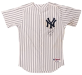 Alex Rodriguez 5/5/2010 New York Yankees Signed Game Worn & Signed Home Pinstripe Jersey - Photo Matched to 2 Games (MLB Auth)